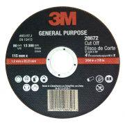Disco de corte GP46 115x1,2x22,23 HC000645107