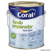 Fundo Preparador Parede Base Agua 3,6L Coral