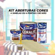Kit Pintura Aberturas Cores
