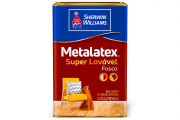 Metalatex Acrílico Fosco Branco  18L