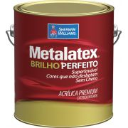 Metalatex Acrílico Semi Brilho 3,6L CORES