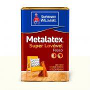 Metalatex Super Lavável Fosco 16L - CORES