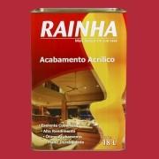 Rainha Acrílico 18L Fosco Standard Cor: Vermelho
