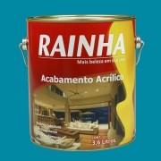 Rainha Acrilico Semi Brilho 3,6L Cor: Azul Piscina