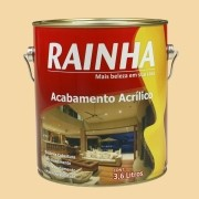 Rainha Acrílico Semi Brilho 3,6L Cor: Vanilla