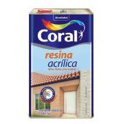 Resina Acrílico Base Solvente 5L Coral