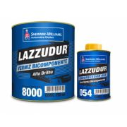 Verniz Bicomponente 8000 KIT 750ml - Lazzuril