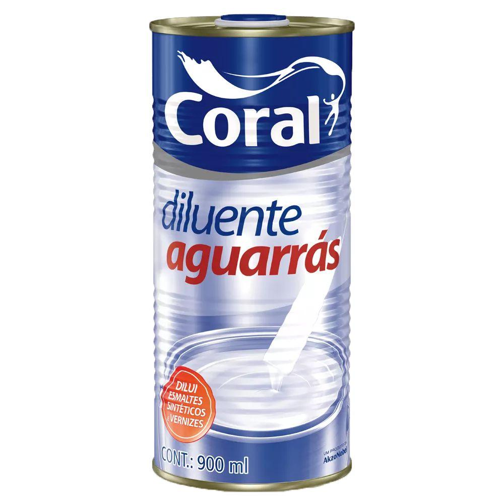 Aguarrás Coral 0.9L