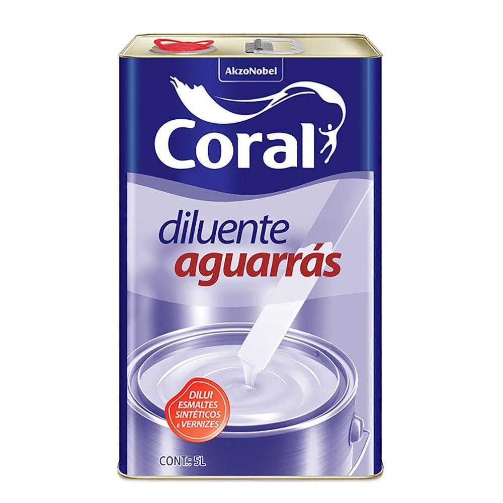 Aguarrás Coral 5L