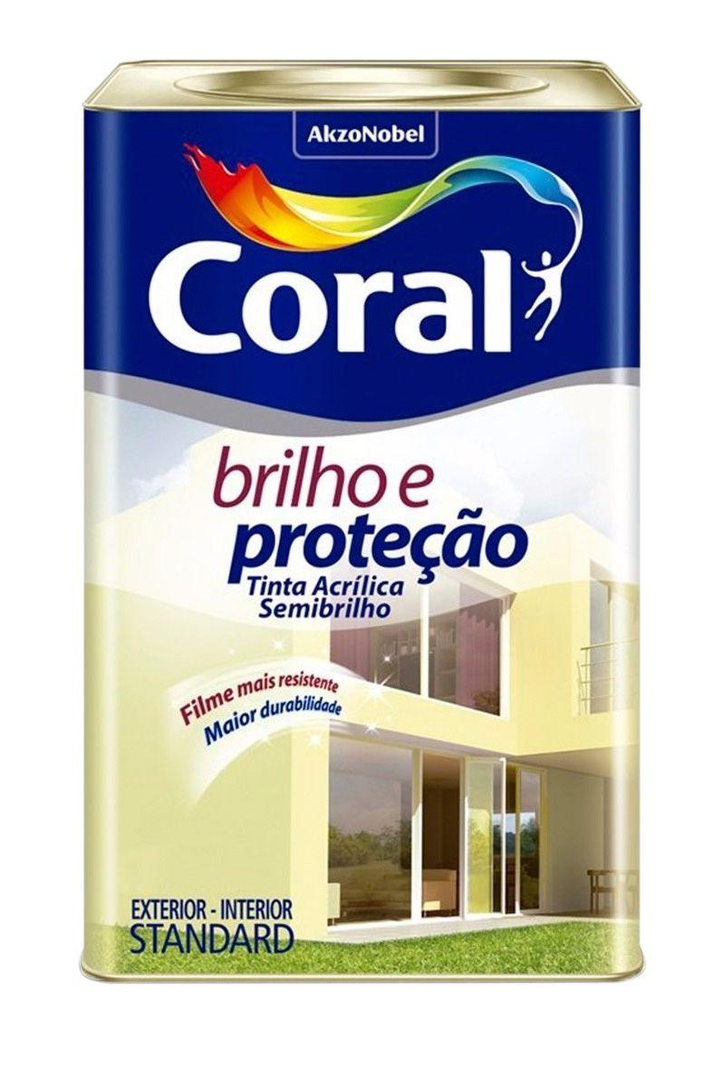 Brilho E Proteçao Acrílico Semi Brilho 18L Branco