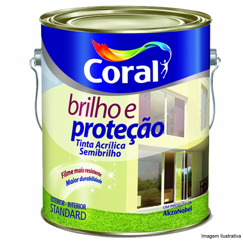 Brilho E Proteçao Acrílico Semi Brilho 3,6L Branco