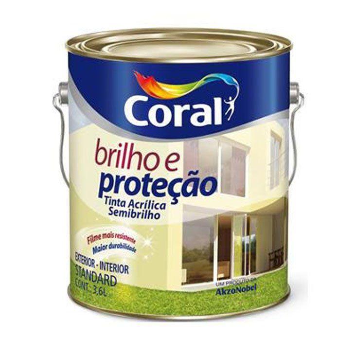 Brilho E Proteção Acrílico Semi Brilho 3,6L - CORES