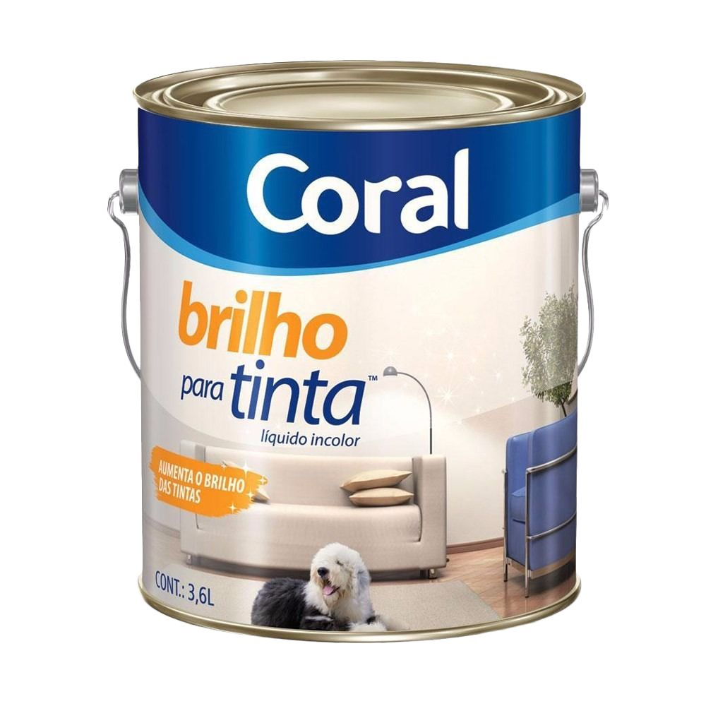 Brilho Para Tinta 3,6L Coral