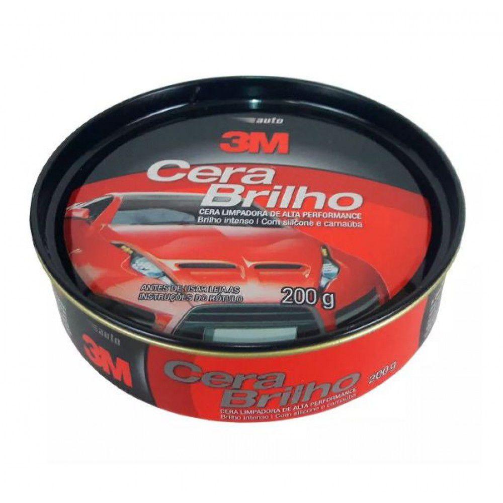 Cera Auto Brilho 3m 200gr HB004481030