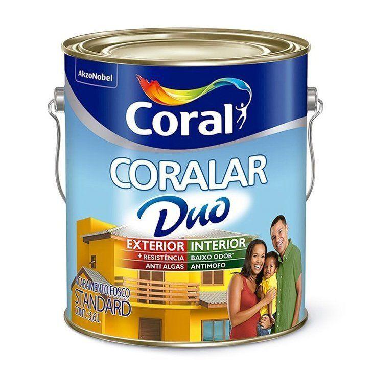 Coralar Acrílico Fosco Duo 3,6L Branco