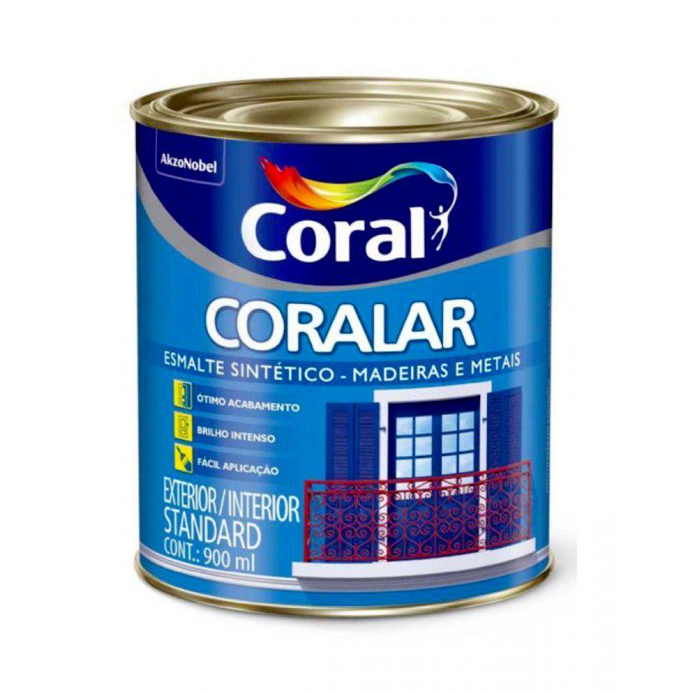 Coralar Esmalte Acetinado 0,9L Branco