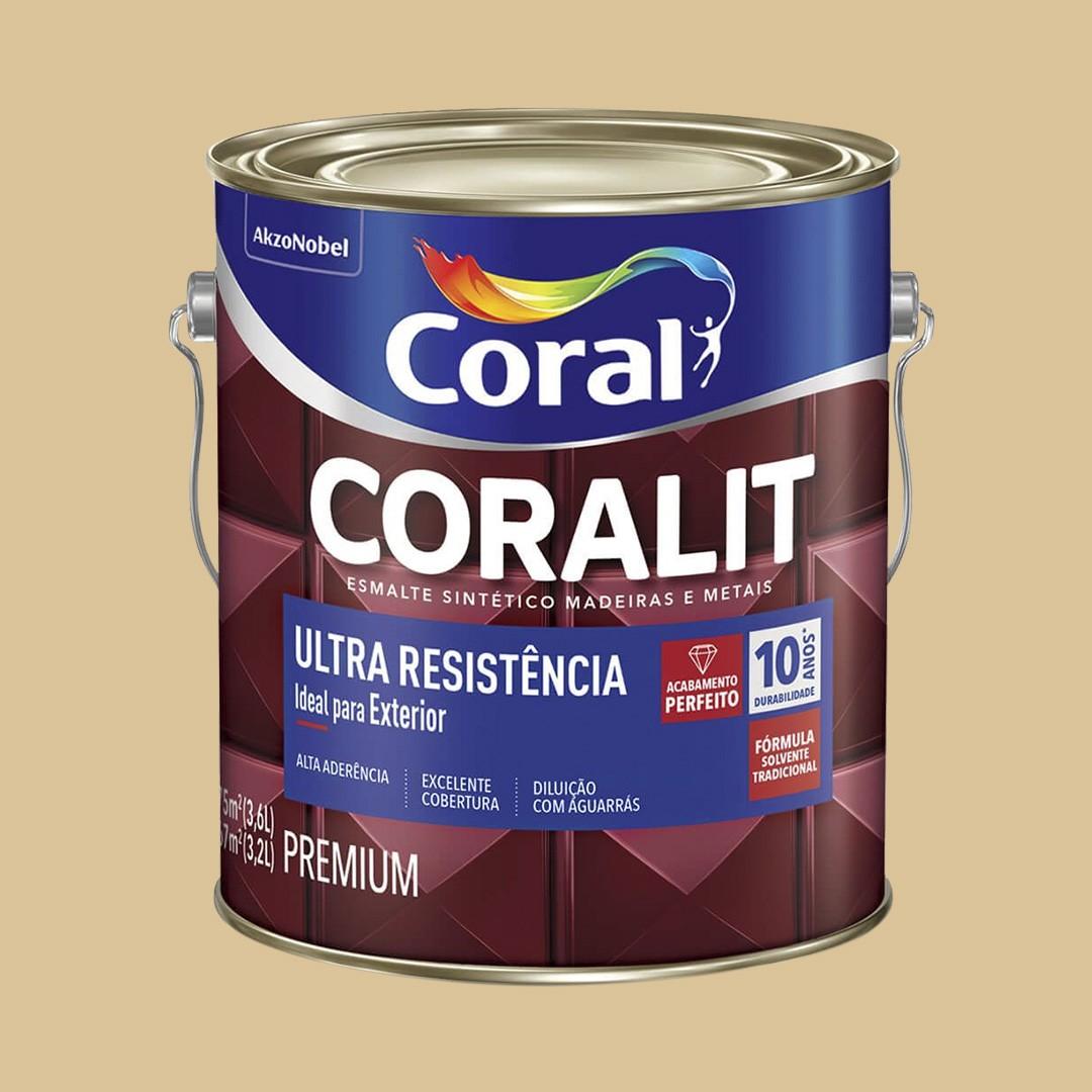 Coralit Alto Brilho 3,6L Cor: Casa de Areia