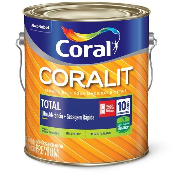 Coralit Secagem Rápida Brilhante  3,6L - CORES