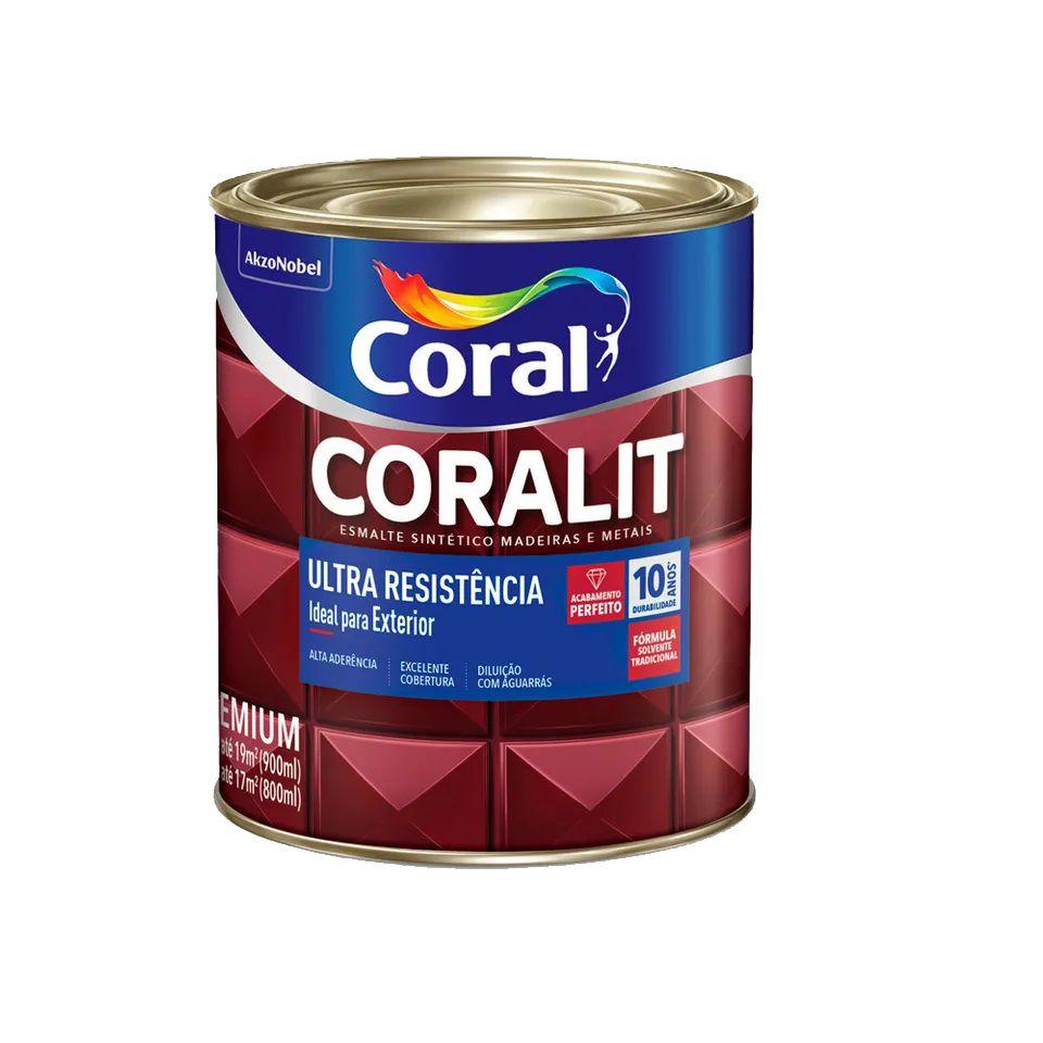 Coralit Ultra Acetinado Branco 0,9L
