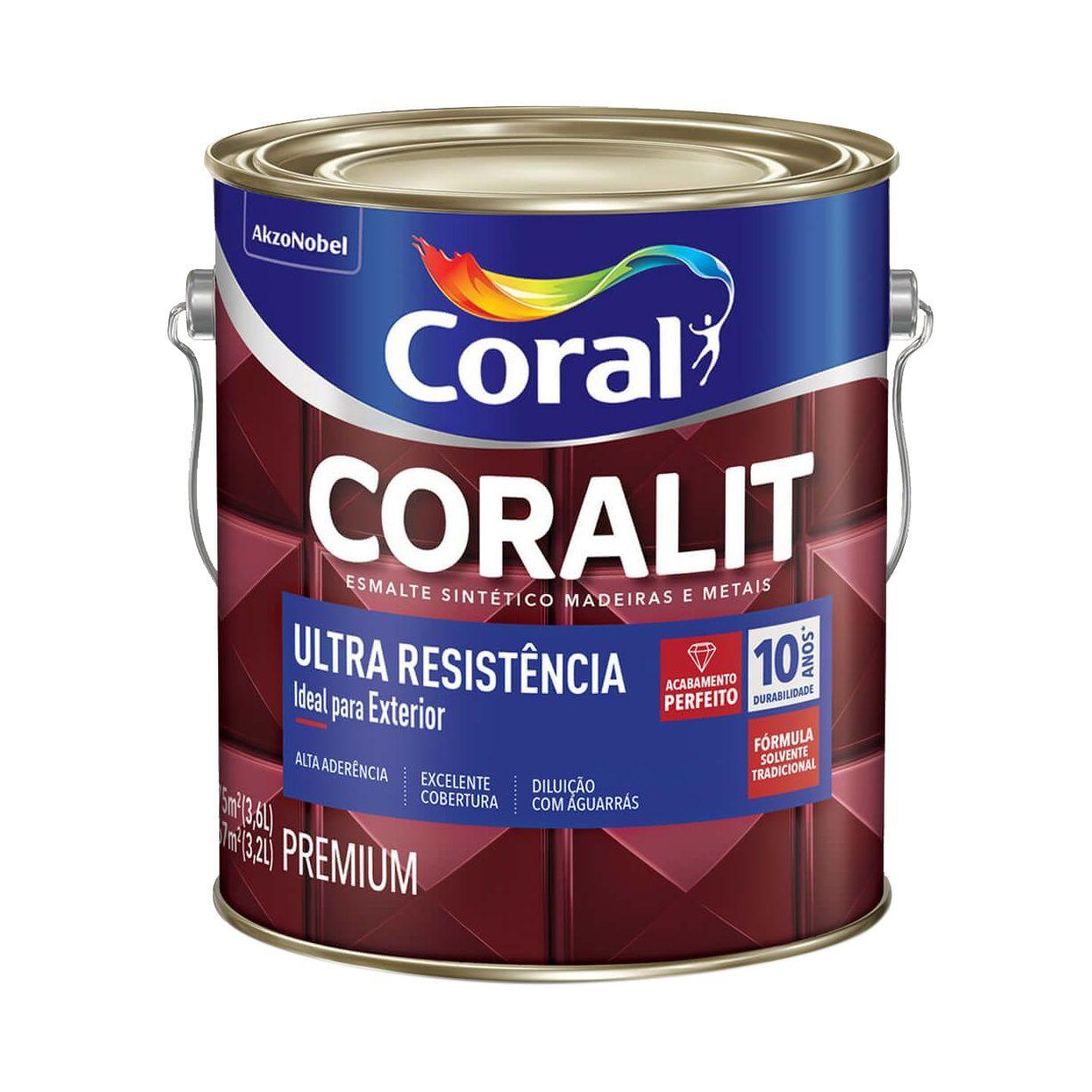 Coralit Ultra Alto Brilho 3,2L - CORES