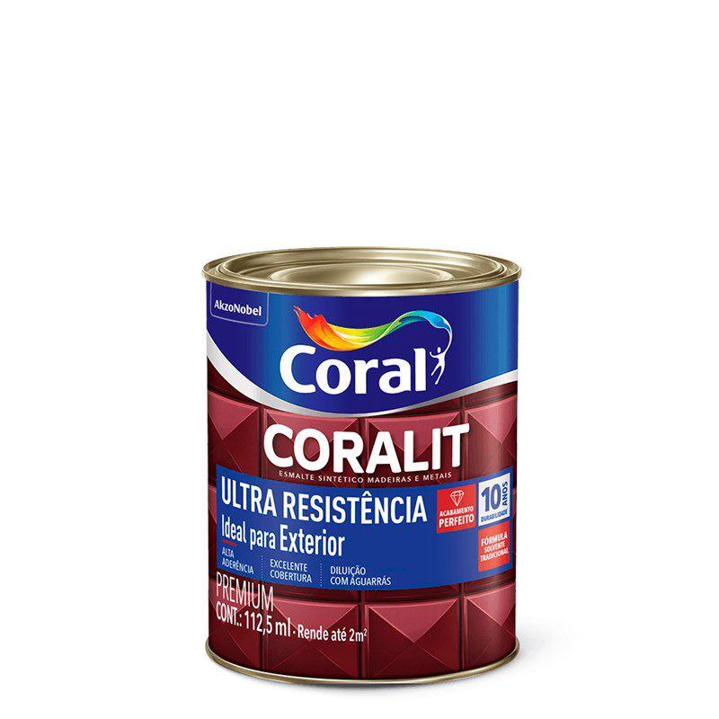 Coralit Ultra Alto Brilho Preto 0,112L