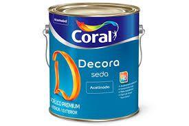 Decora Acrílico Acetinado Seda 3,6L CORES
