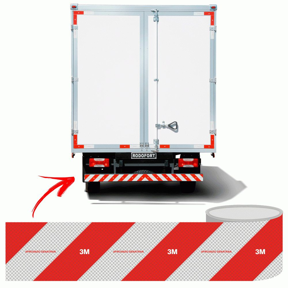 Faixa refletiva Caminhão Lateral Direita HB004037105