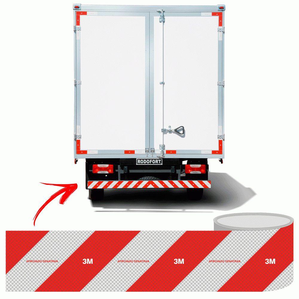Faixa refletiva Caminhão Lateral Esquerda HB004037097