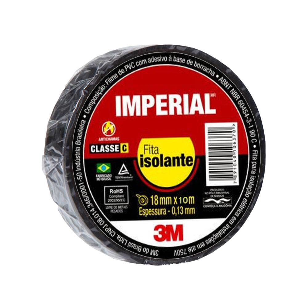 Fita Isolamento Imperial 18mmx10m 3M