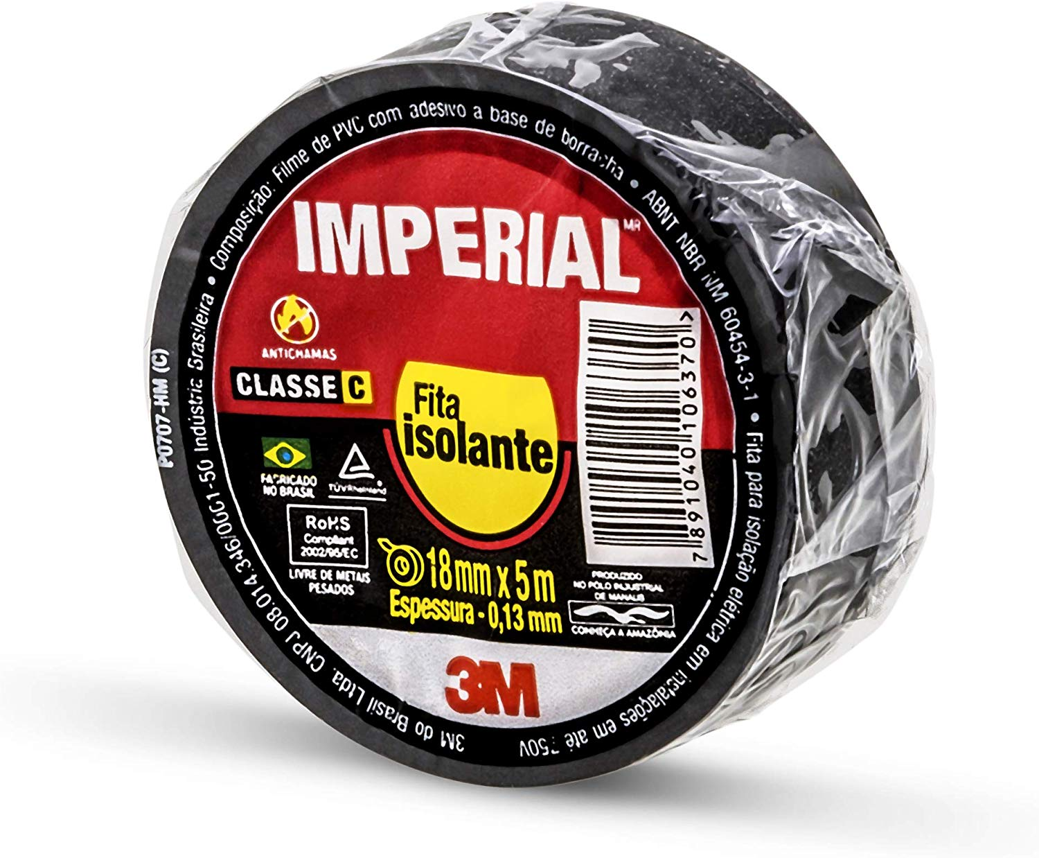 Fita Isolamento Imperial 18mmx5m 3M H0002202853
