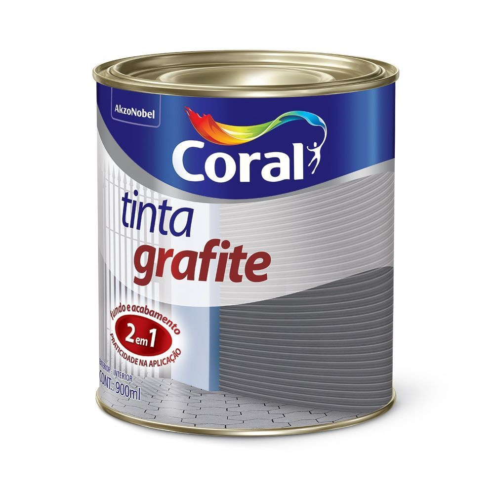 Grafite Claro Coral 0,9L