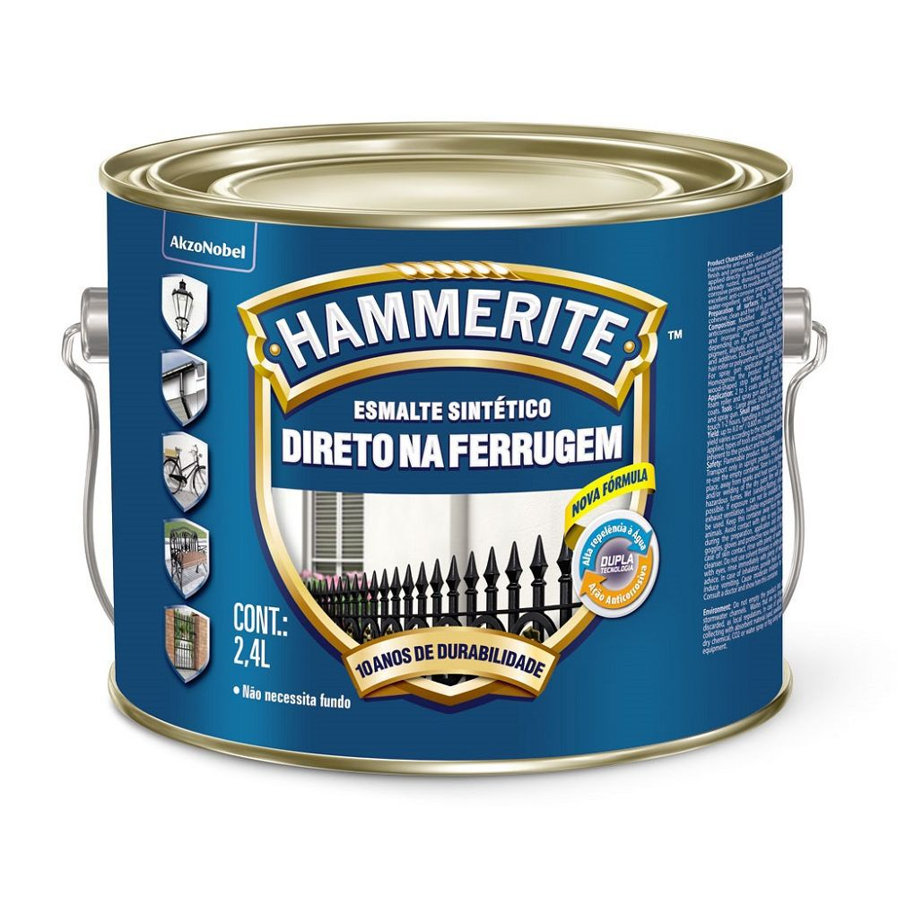 Hammerite Brilhante 2,4L Verde