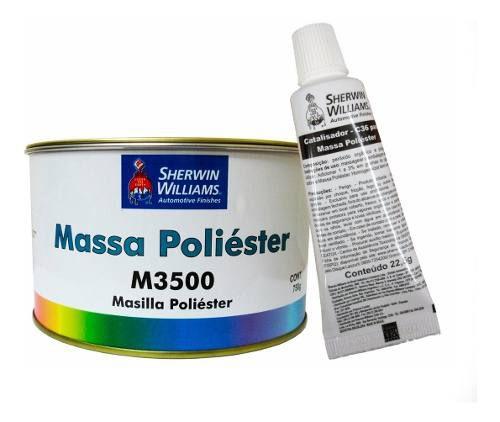 Massa Poliéster M3500 750g - Lazzuril