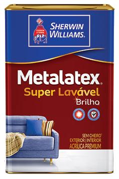 Metalatex Acrílico Semi Brilho Branco 18L