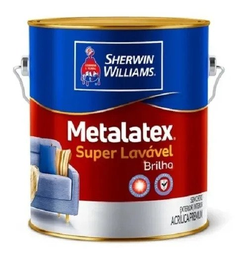 Metalatex Acrílico Semi Brilho Branco 3,6L