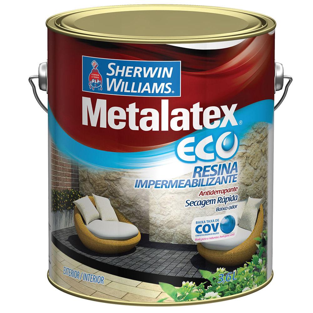 Metalatex Eco Resina Impermeabilizante Incolor 3,6L