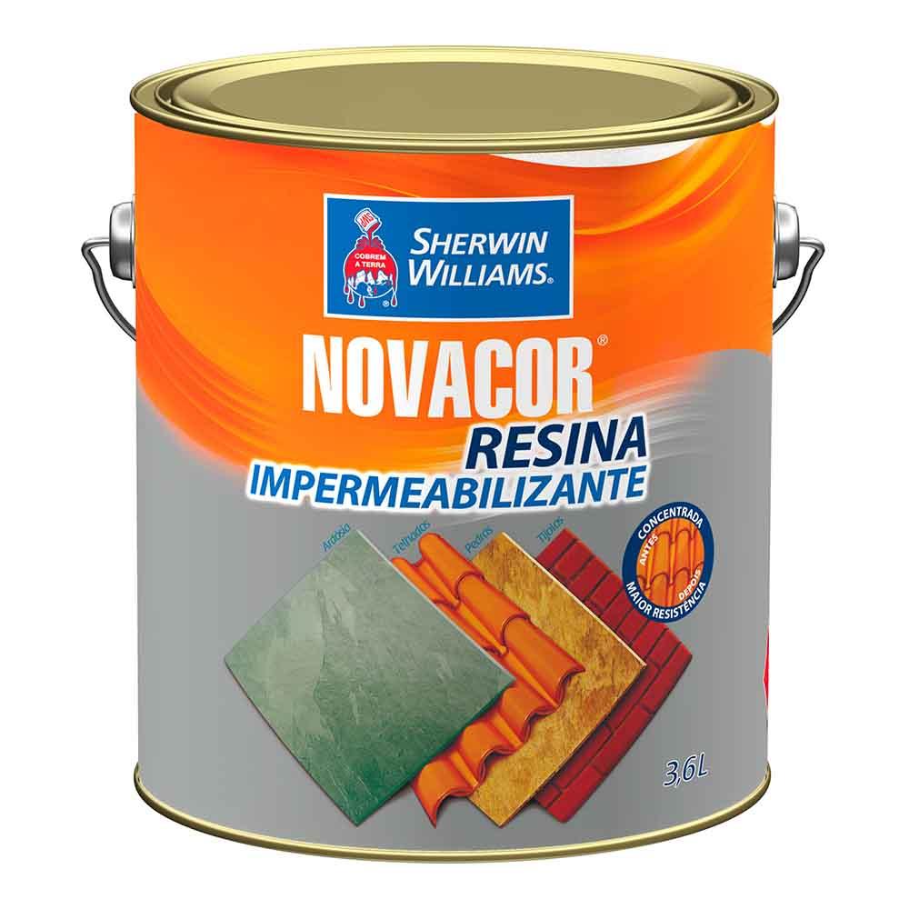 Novacor Resina Impermeabilizantemeabilizante 3,6L