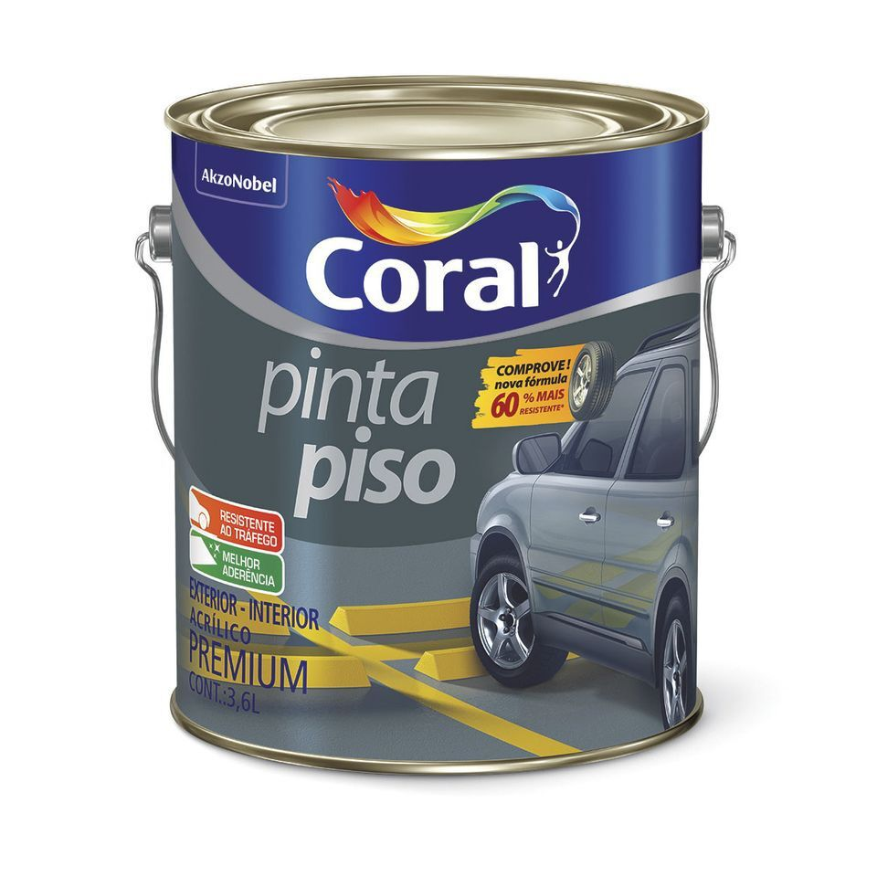Pinta Piso 3,6L Concreto