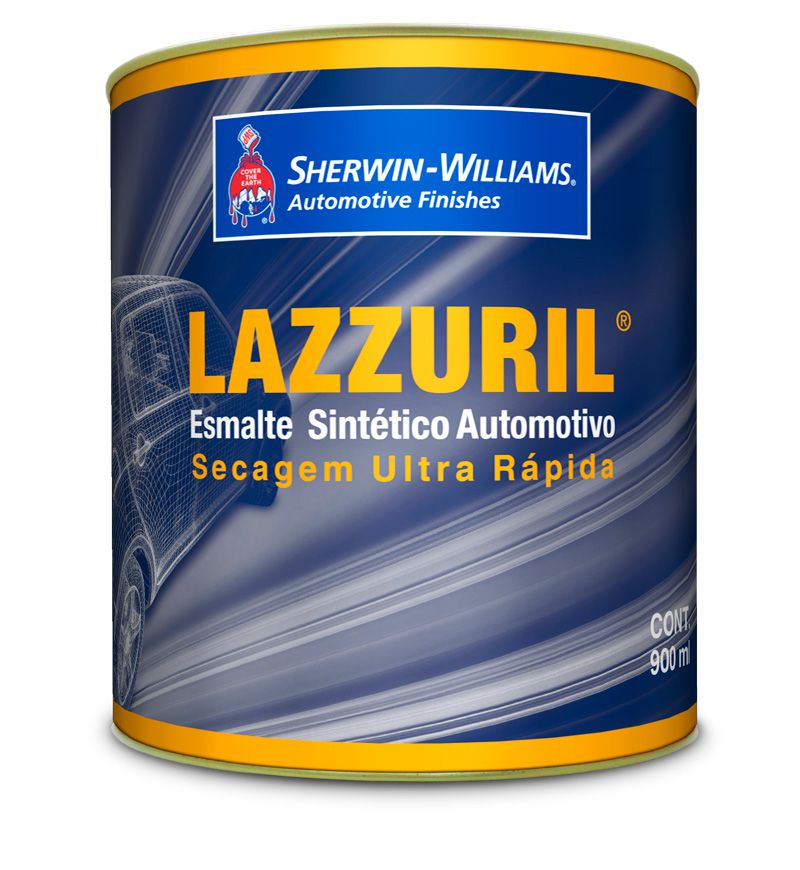Preto Fosco Sintético 910 900ml - Lazzuril