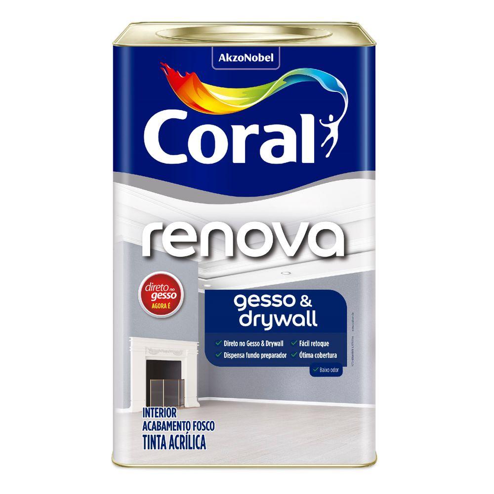 Renova Gesso e Drywall 18L Branco