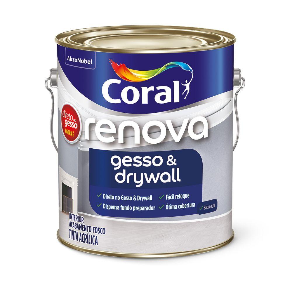 Renova Gesso e Drywall 3,6L Branco