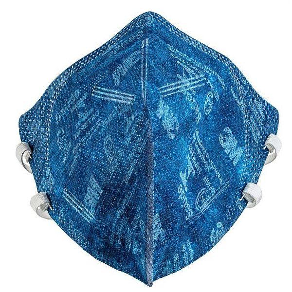 Respirador Azul 9920/100 P2 3M H0002276758