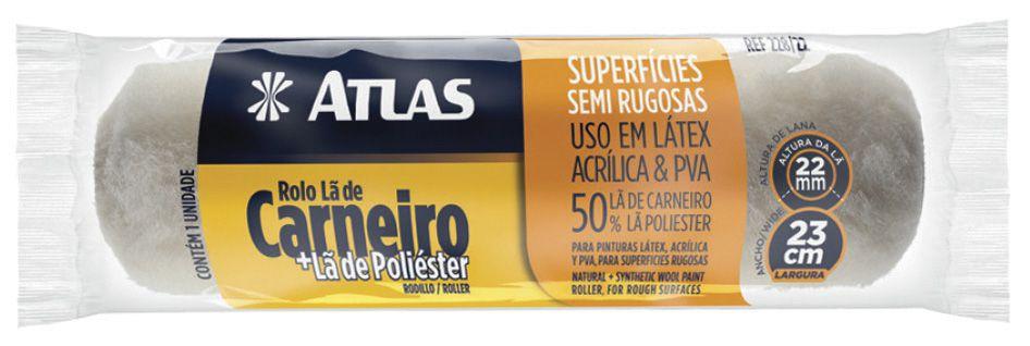 Rolo De Lã 228/22 23Cm Atlas