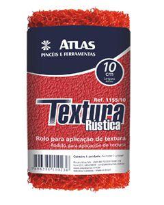 Rolo Textura Rústico Nylon 1155 23Cm Atlas