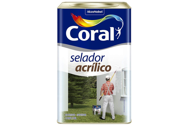 Selador Acrílico Coral 18L