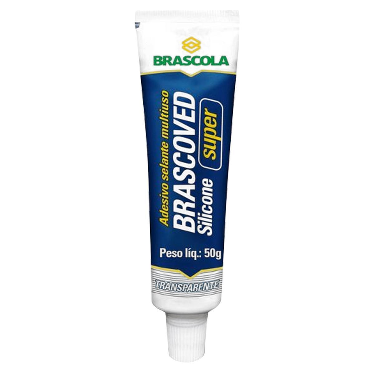 Silicone Brascoved Super Transparente 50Gr Brascola