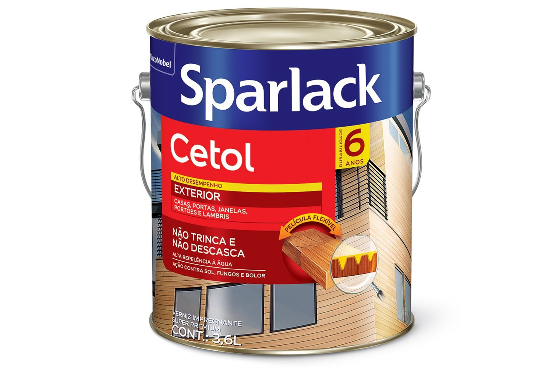 Sparlack Cetol Acetinado Canela 3,6L Sparlack