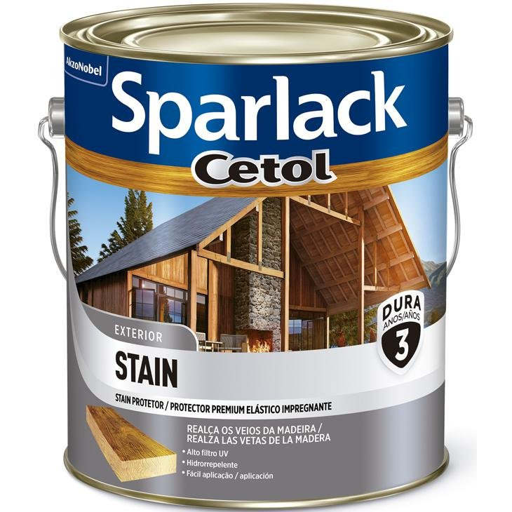 Cetol Stain Acetinado 3,6L Sparlack