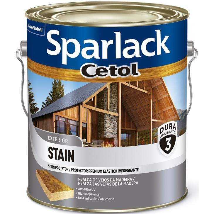 Sparlack Cetol Efeito Natural Acetinado 3,6L Sparlack