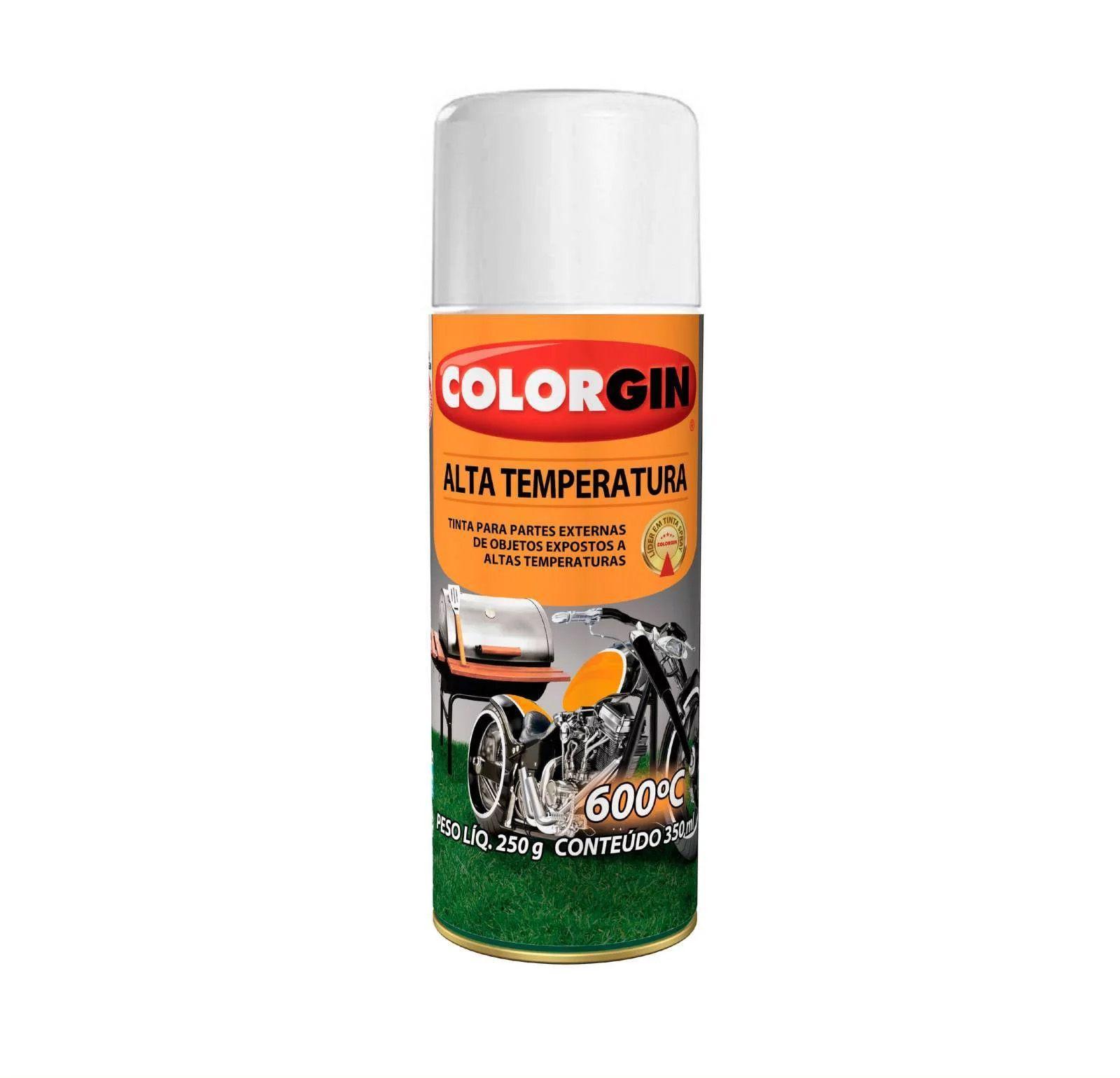 Spray 5724 Alta Temperatura 600Gr Branco Colorgin